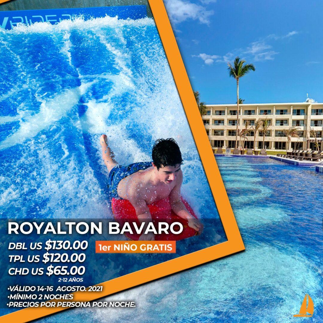 14 al 16 de Agosto Royalton Bavaro